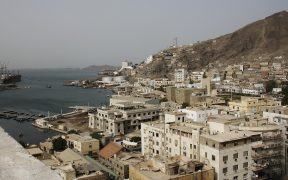 Steamer Point in Aden, Yemen. 2013.