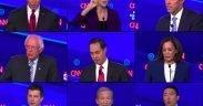 12 उम्मीदवारों ने मंगलवार को 15, 2019 के चौथे डेमोक्रेटिक अध्यक्षीय बहस में भाग लिया।