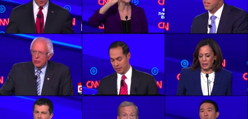 12 candidates participated in the fourth Democratic presidential debate on Tuesday October 15, 2019.