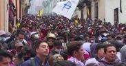 L'Ecuador protesta per gli aumenti di carburante