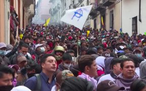 Ecuador protests fuel hikes