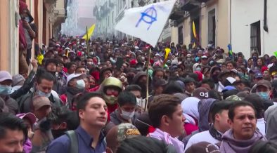 Mass Protests Across Ecuador as New IMF Austerity Measures Take Effect - Citizen Truth