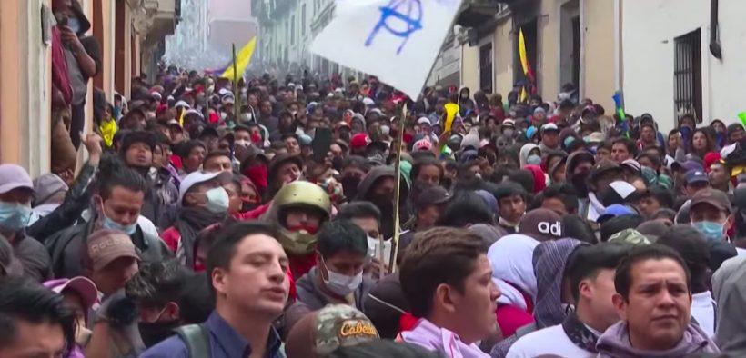 Ecuador protests fuel hikes