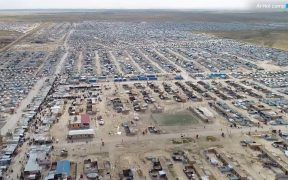 Syria's al-Hawl refugee camp. (Photo: YouTube)
