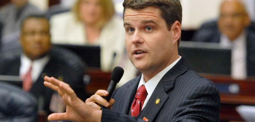 2013 photo of Rep. Matt Gaetz