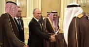 Riyad a accueilli les pourparlers entre le président de la Russie et le roi Salman bin Abdulaziz Al Saud de l'Arabie saoudite