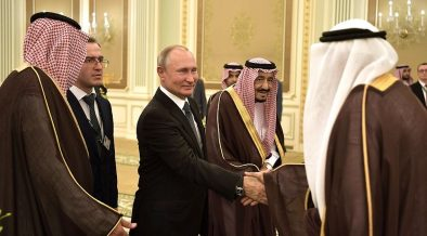 В Эр-Рияде состоялись переговоры между Президентом России и королем Саудовской Аравии Салманом бен Абдель Азизом Аль Саудом