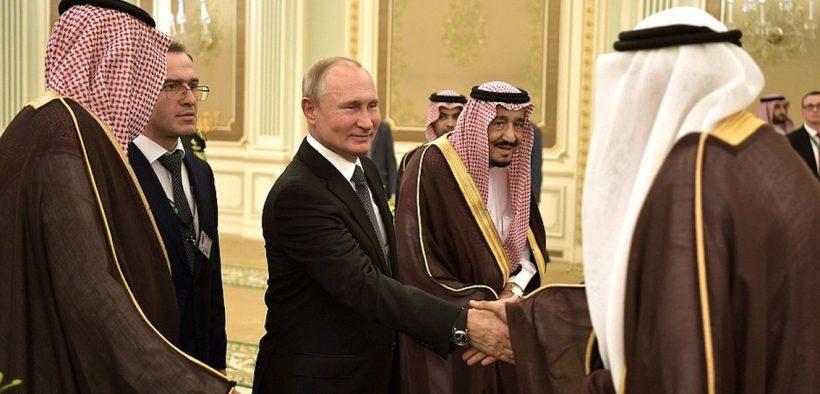 Riyadh hosted talks between the President of Russia and King Salman bin Abdulaziz Al Saud of Saudi Arabia
