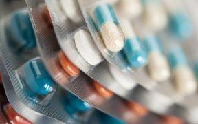 Packungen mit verschreibungspflichtigen Pillen