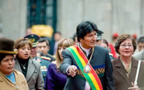 Evo Morales in 2008