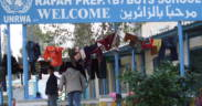 Photos taken from UNRWA refugee shelters, school and mosque in Rafah, Gaza in 2009. The U.N. recently passed the UNRWA extension.