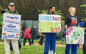 April 22, 2017 March for Science, Washington, DC.