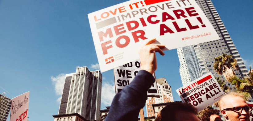Los Angles Medicare For All Rally, February 2017. (Photo: Molly Adams)