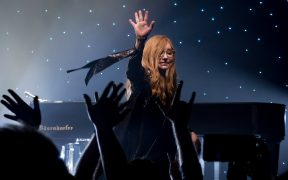 Tori Amos performing live at the Theatre at Ace Hotel in downtown Los Angeles, California, on Friday, December 1, 2017. This was the first of three sold out nights at this venue for Tori.