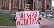 No War With Iran rally in Ohio, 2008.