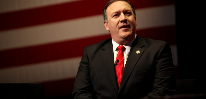 Then Congressman Mike Pompeo speaking at the 2012 CPAC in Washington, D.C