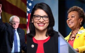 Bernie Sanders, Rashida Tlaib and Barbara Lee are leading a battle to reign in CEO pay with a new proposed bill.