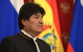 Bolivian President Evo Morales meets with Russian President Vladimir Putin in July, 2019. (Photo: Kremlin.ru)