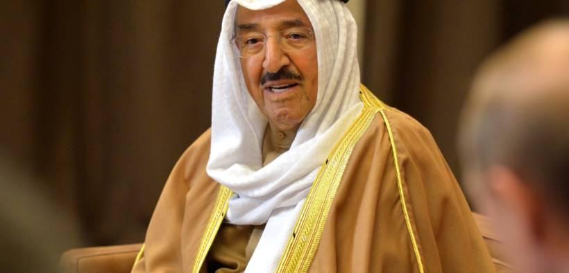Emir of Kuwait Sabah Al-Ahmad Al-Jaber Al-Sabah.