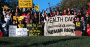 Health care march in 2013. (Photo: United Workers)