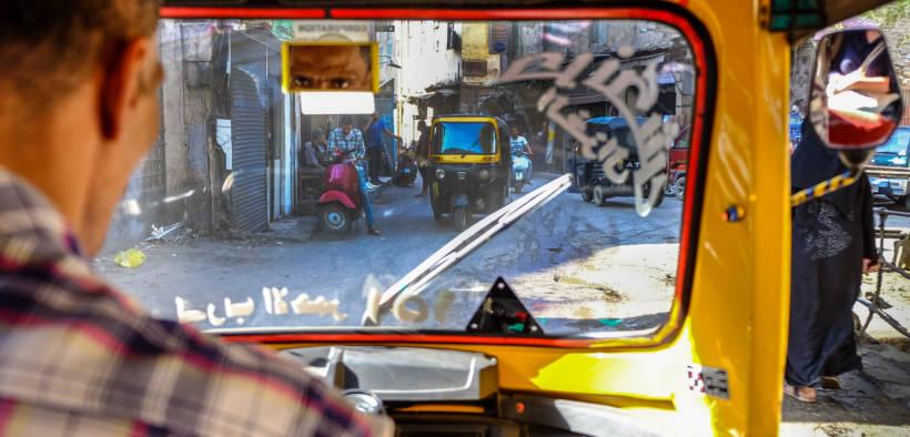 A tuk tuk rider through old town of Cairo. Date: October, 2018. (Photo: Mondo79)