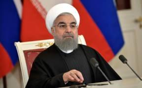 President of Iran Hassan Rouhani meets with Russian President Vladimir Putin in 2017. (Photo: Kremlin.ru)