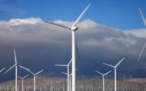 A wind farm in Southern California between the San Jacinto and San Bernardino mountains. (Photo: Erik Wilde)