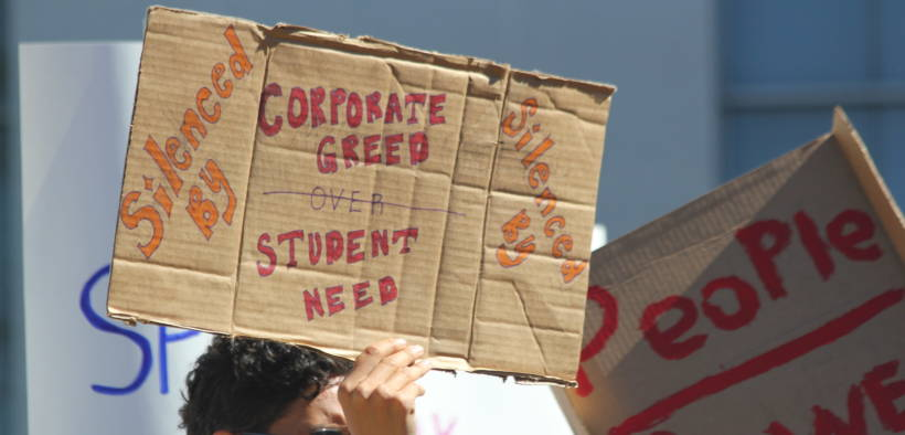 Will proponents of student debt forgiveness support alternative ideas like income-share agreements? (Photo: Quinn Dombrowski)