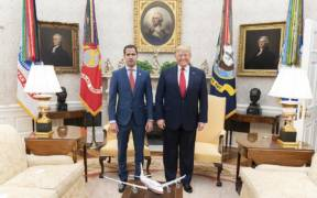 1280px President Trump Visits with the Interim President of the Bolivarian Republic of Venezuela to the White House 49493581743