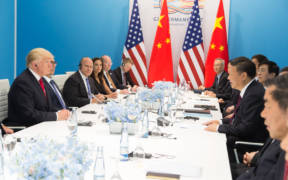 President Donald J. Trump and President Xi Jinping at G20 July 8 2017