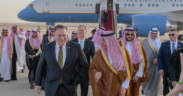 Secretary Pompeo is Greeted by Saudi Foreign Minister Adel al Jubeir Upon Arrival 41717772672