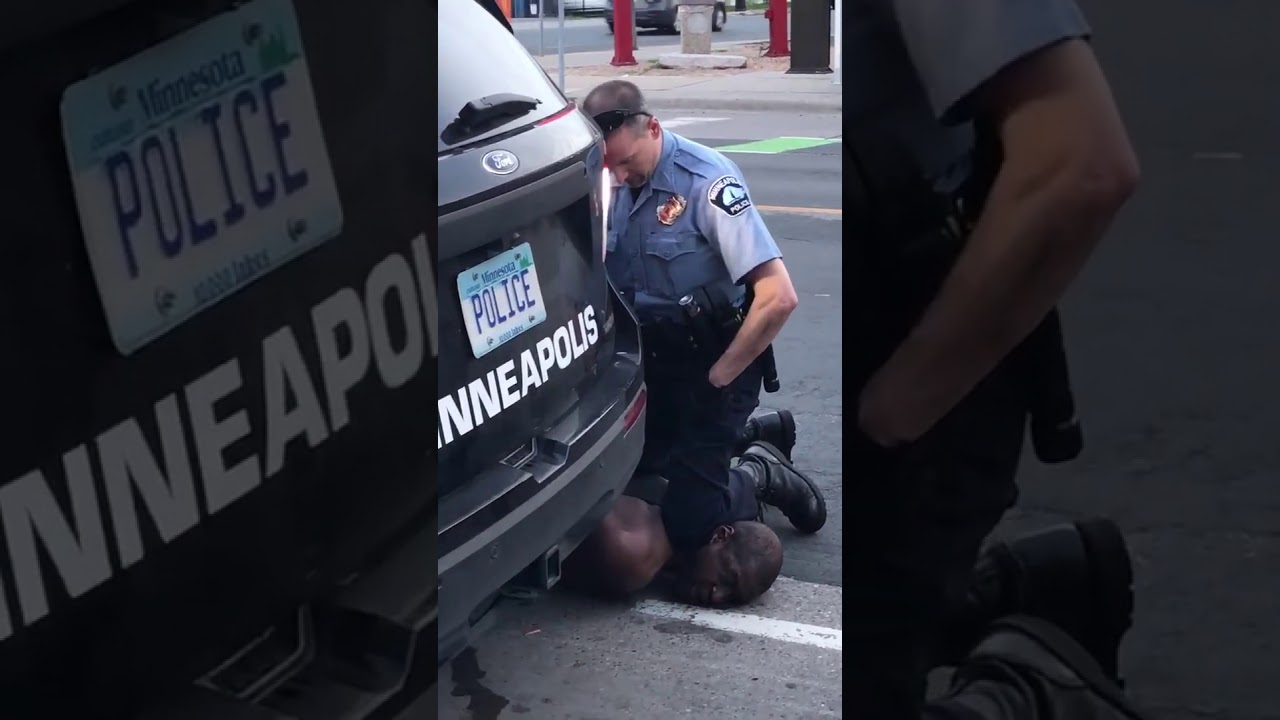 'They Killed This Man': Video Shows Minneapolis Cop Kneeling on Black Man's Neck as Onlookers Warn He's Being Crushed to Death