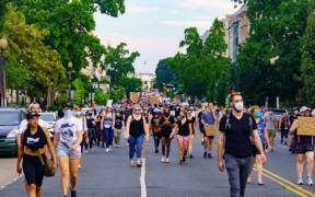 2020.06.03 Protesting the Murder of George Floyd Washington DC USA 155 50211