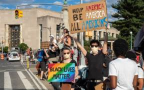 2020George Floyd protest in Grand Army Plaza June 7 73161