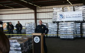 7 Tons of seized Marijuana