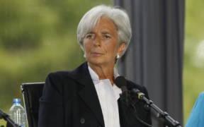Christine Lagarde Université dété du MEDEF 2009