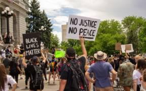 George Floyd Protest  Denver   49980596371