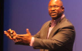 Jamaal Bowman at TEDx CCSU 2015 cropped