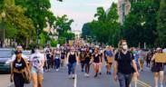 Protesting the Murder of George Floyd Washington DC USA 155 50211