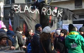 blackrockfrenchprotest