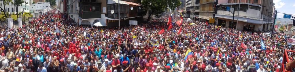 chavista may day 2019