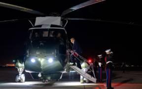 President Trump Travels to OK 50034049067