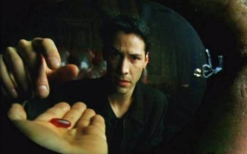 matrix neo red pill