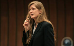 Samantha Power Speaking in Geneva