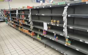 Paarl RSA COVID19 panic shopping