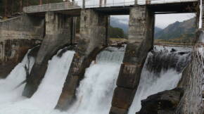 Chemal hydroelectric power plant 04