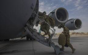 C 17s support Afghanistan drawdown 2021