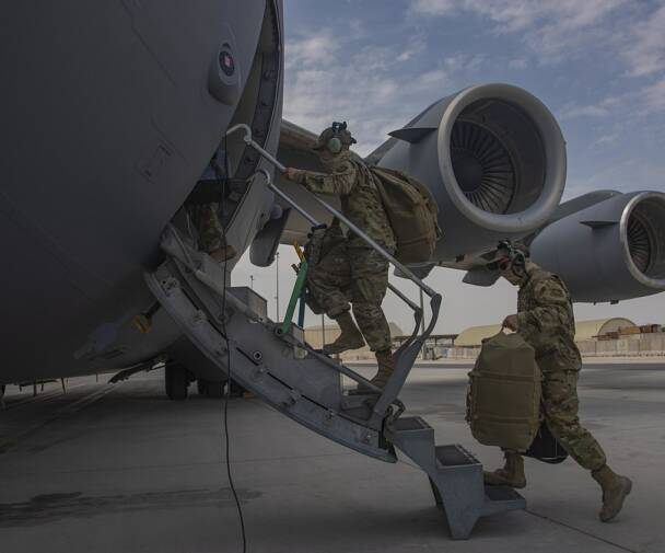 C 17s support Afghanistan drawdown 2021