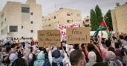 Demonstrations in solidarity with Sheikh Jarrah in Amman Jordan 9 May 2021 45