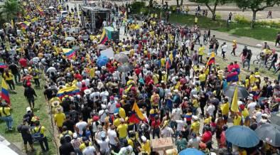 Protestas contra la reforma tributaria de 2021 en Cali el 1ro de Mayo 07